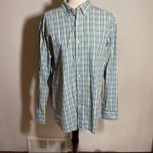 14th & Union Men's Plaid Button Up Shirt